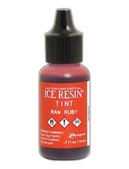 ICE Resin® Tint Raw Ruby, 0.5oz Tints ICE Resin®