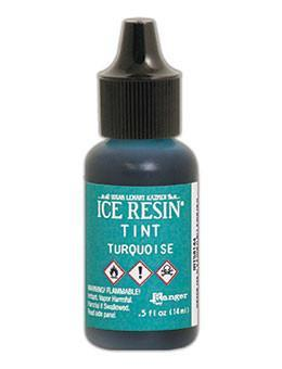 ICE Resin® Tint Turquoise, 0.5oz Tints ICE Resin®