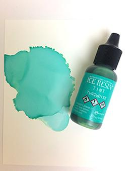 ICE Resin® Tint Turquoise, 0.5oz Ink ICE Resin®