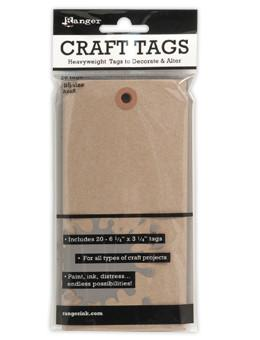 Ranger Craft Tags #8 Kraft, 20pc Surfaces Ranger Brand