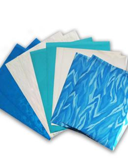 Ranger Shiny Transfer Foil Sheets Frozen, 10pc