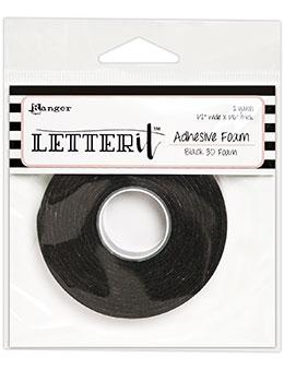 Letter It™ Black Foam Roll Tape Tape Letter It