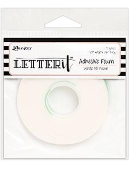 Letter It™ White Foam Roll Tape Tape Letter It