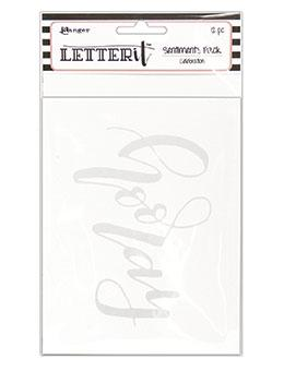 Letter It™ Celebration Sentiment Pack (4.25 x 5.5) 12pk / 6 Designs