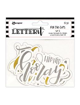 Letter It™ 12pk Die Cuts - # 2 Die Cuts Letter It