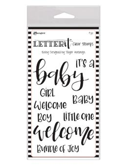 Letter It™ Clear Stamp Set - Baby Stamps Letter It