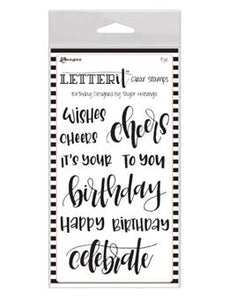 Letter It™ Clear Stamp Set - Birthday