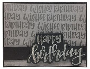 Letter It™ Clear Stamp Set - Birthday Stamps Letter It