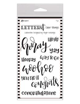 Letter It™ Clear Stamp Set - Celebration Stamps Letter It