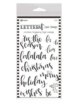 NEW! Letter It™ Clear Stamp Set - Christmas