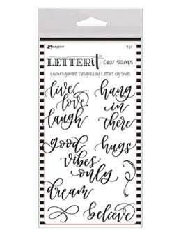 Letter It™ Clear Stamp Set - Encouragement Stamps Letter It