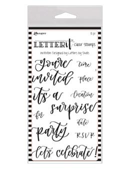 Letter It™ Clear Stamp Set - Invitation Stamps Letter It