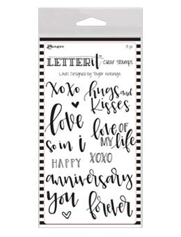 NEW! Letter It™ Clear Stamp Set - Loves