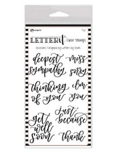 Letter It™ Clear Stamp Set - Occasions Stamps Letter It
