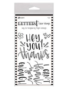 Letter It™ Clear Stamp Set - Hey You Stamps Letter It