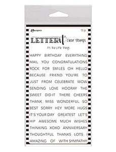 Letter It™ Clear Stamp Set - It's The Little Things Stamps Letter It