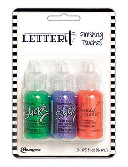 NEW! Letter It™ Finishing Touches Sparkle