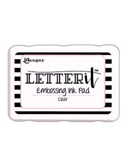 Letter It™ Embossing Pad Clear Embossing Ink Letter It