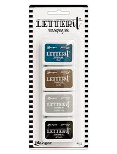 Letter It™ Stamping Ink Kit 1 Mini Ink Pad Kit Letter It