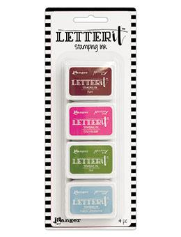 Letter It™ Stamping Ink Kit 2 Mini Ink Pad Kit Letter It