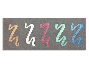 Letter It™ Metallic Markers, 5pc Marker Letter It