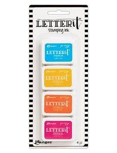 Letter It™ Stamping Ink Kit 3 Mini Ink Pad Kit Letter It