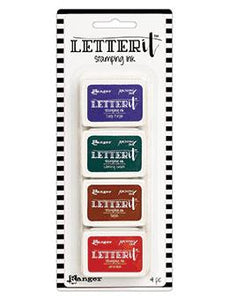 Letter It™ Stamping Ink Set #4 Mini Ink Pad Kit Letter It