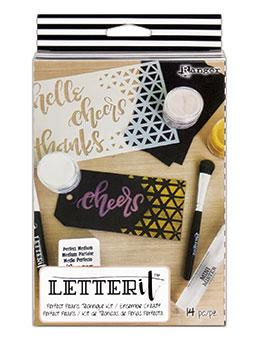 Letter It™ Perfect Pearls Kit Pigment Powders Letter It