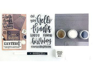Letter It™ Embossing Kit Embossing Powders Letter It