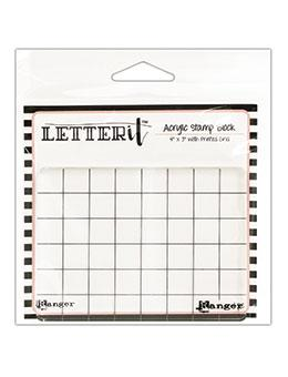 Letter It™ Acrylic Stamping Block Tools & Accessories Letter It