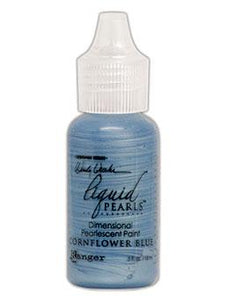 Wendy Vecchi MAKE ART Liquid Pearls Cornflower Blue, 0.5oz Paint Wendy Vecchi