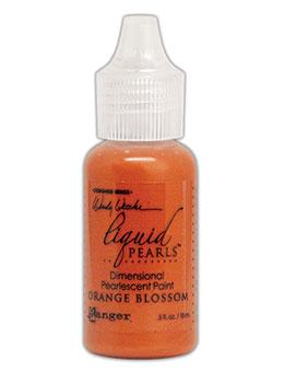 Wendy Vecchi MAKE ART Liquid Pearls Orange Blossom, 0.5oz Paint Wendy Vecchi