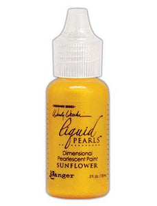 Wendy Vecchi MAKE ART Liquid Pearls Sunflower, 0.5oz Paint Wendy Vecchi