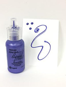 Wendy Vecchi MAKE ART Liquid Pearls Violet, 0.5oz Paint Wendy Vecchi