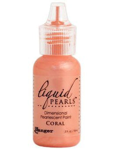 Liquid Pearls™ Coral, 0.5oz Liquid Pearls Ranger Brand
