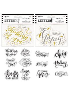 Letter It™ Die Cut 2pk Bundles Letter It