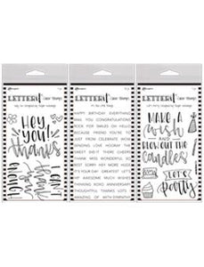 Letter It™ Clear Stamp Set 3pk Bundles Letter It