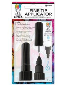 Dina Wakley Media Fine Tip Applicator 2pk Tools & Accessories Dina Wakley Media