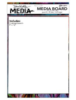 "Dina Wakley Media Board 9"" x 12"" 3pk Surfaces Dina Wakley Media"