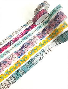 Dina Wakley Media Washi Tape #1 Washi Tape Dina Wakley Media