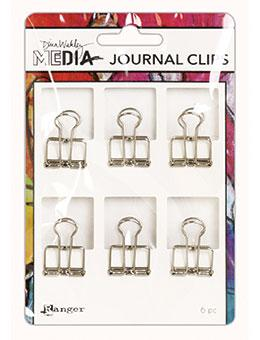 Dina Wakley Media Small Journal Clips Journal Accessories Dina Wakley Media