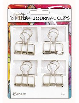 Dina Wakley Media Large Journal Clips Journal Accessories Dina Wakley Media
