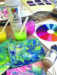 Dina Wakley Media Pouring Medium & Cell Creator Set Medium Dina Wakley Media