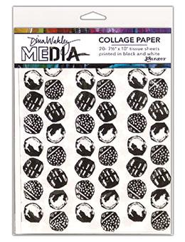 NEW! Dina Wakley Media Collage Paper Backgrounds