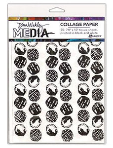 Dina Wakley Media Collage Paper Backgrounds Surfaces Dina Wakley Media