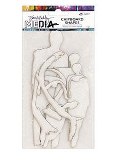 NEW! Dina Wakley Media Chipboard Shapes Persona