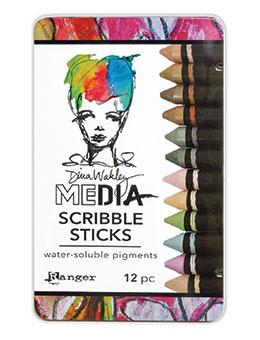 Dina Wakley Media Scribble Sticks #3 Scribble Sticks Dina Wakley Media
