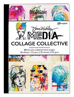 NEW! Dina Wakley Mixed Media Collage Collective