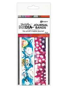 NEW! Dina Wakley Media Printed Journal Bands Small
