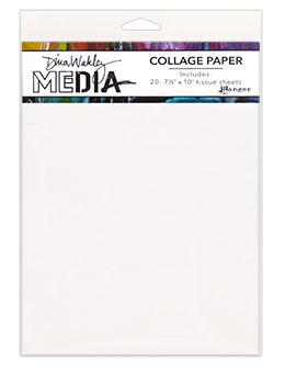 Dina Wakley Media Collage Plain Surfaces Dina Wakley Media